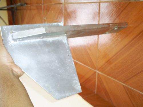 paleta para misturador em aço inox (lote 99)