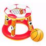 Aro De Basket Inflable Con Pelota Piscina Bestway