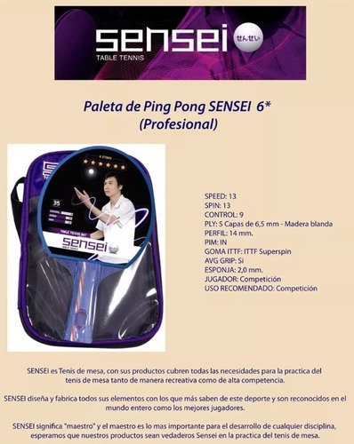 paleta ping pong