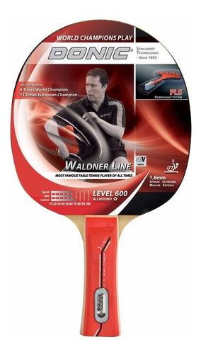 paleta ping pong donic waldner 600 tenis mesa madera goma