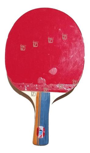 paleta ping pong marfed tenis de mesa 1* estrella goma lisa
