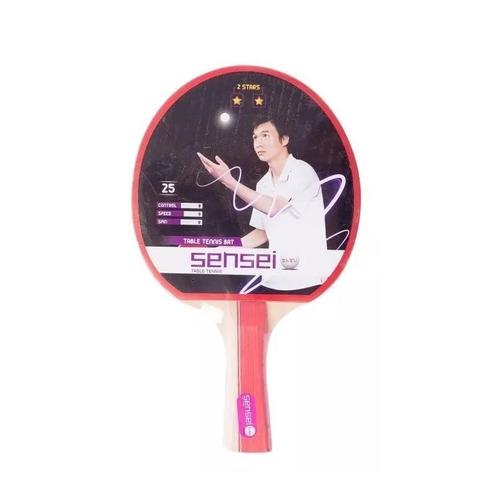paleta ping pong tenis de mesa sensei 2 estrellas pingpong