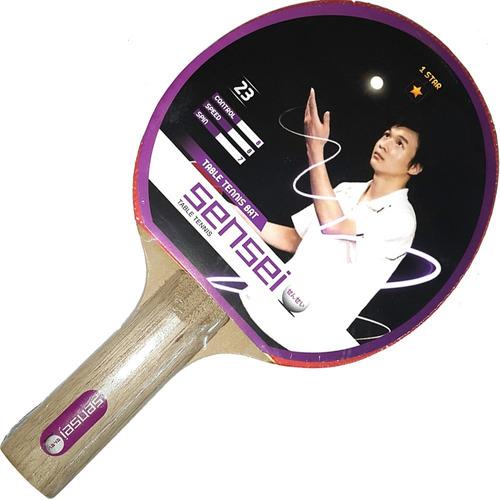 paleta ping pong tenis mesa sensei 1 estrella loc. no.1 arg