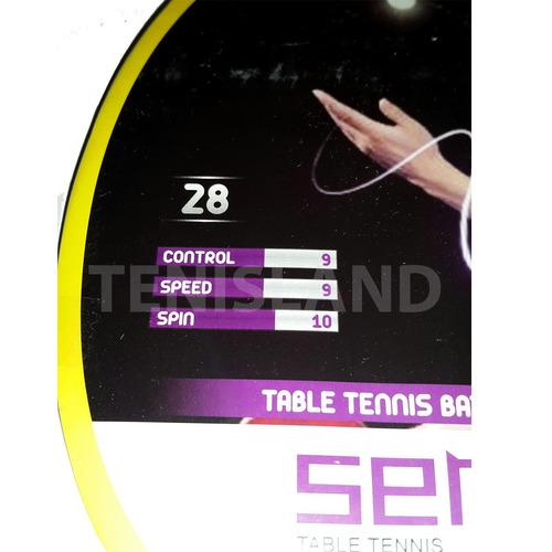 paleta ping pong tenis mesa sensei 3 estrellas loc. no.1 arg