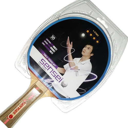 paleta ping pong tenis mesa sensei 4 estrellas loc. no.1 arg