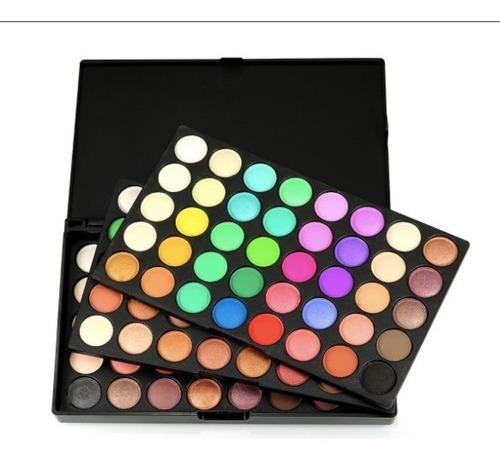 paleta profesional de maquillaje,  de sombras x 120 colores