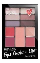 paleta revlon eyes, cheeks + lips (sombras, rubor, labial)