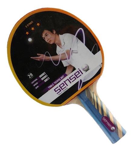paleta sensei competición ping pong tenis de mesa mvd sport