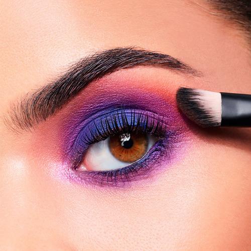 paleta sombras colores intensos seda pop maybelline