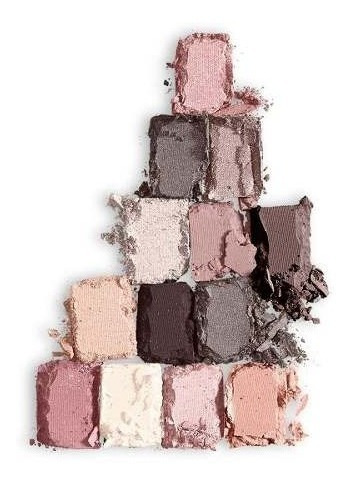 paleta sombras eye shadow palette blushed nudes maybelline