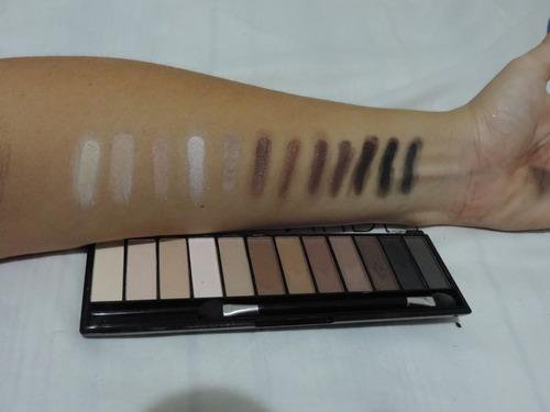 paleta sombras neutras fosca - mega nude - luisance (=naked)