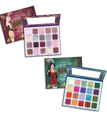 paleta the roaring 20's rude cosmetics 2 modelos disponibles