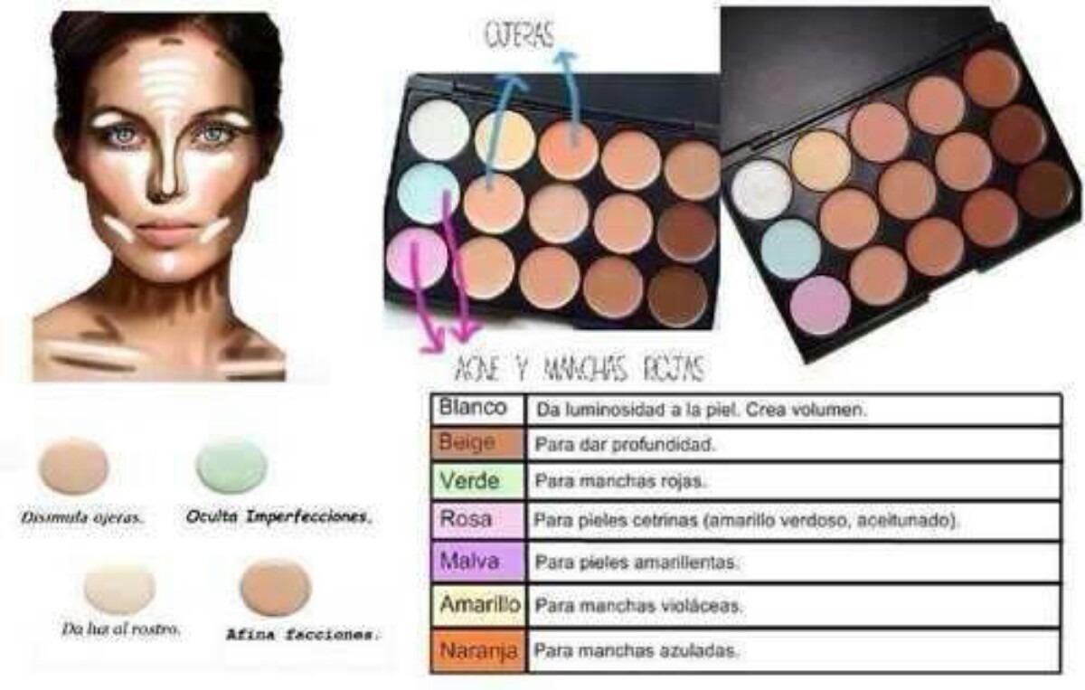 paletas correctores colores mac 15 tonos s 85 00 en