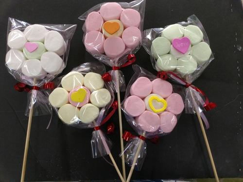 paletas de bombón, paquete 15 piezas