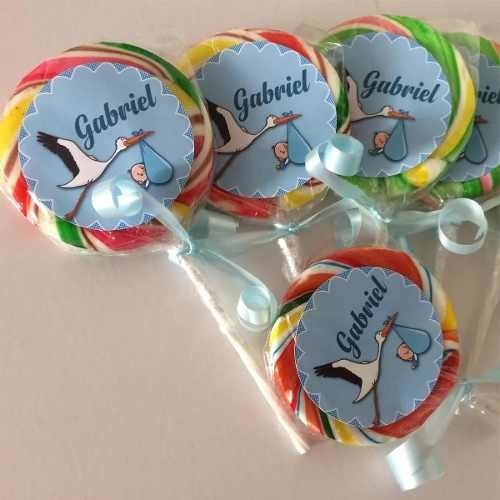 paletas de caramelo personalizados temático gocy express