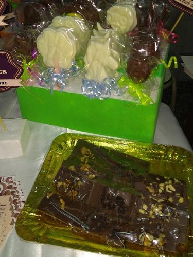 paletas de chocolate artesanal
