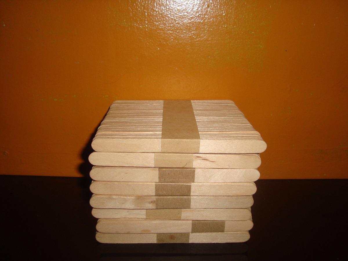 Paletas de madera para helados manualidades bs for Banco de paletas de madera