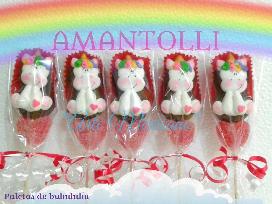 Paletas decoradas de bubulubu mamut bombon en for Paletas de cocina decoradas