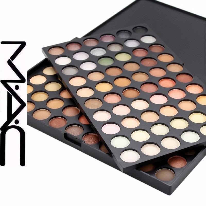 paletas mac sombras 120 neutros maquillaje profesional