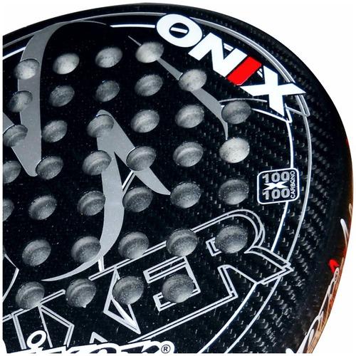 paletas padel mixer onix power - 100% carbono - envío gratis