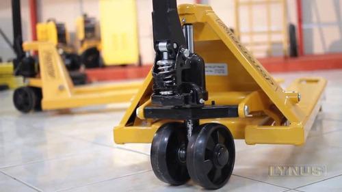 paleteira manual 3 ton 685 x 1150 mm lynus