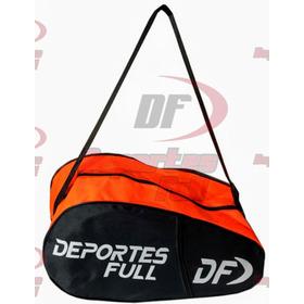 Paletero Bolso De Padel Deportes Full Clásico Simple Naranja