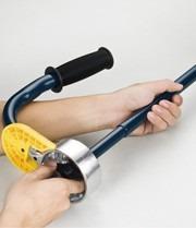 paletizador aplicador manual ajustable de 12 a 21 pulgadas
