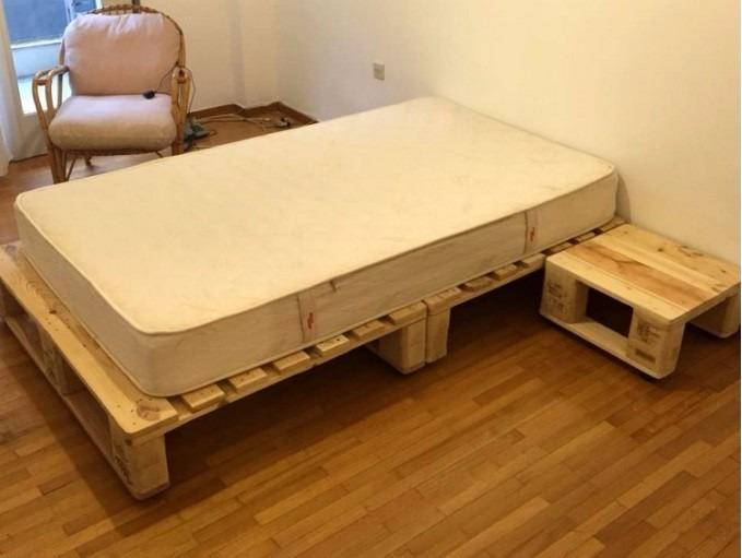 palets base de camas con pallets - Camas Con Palets