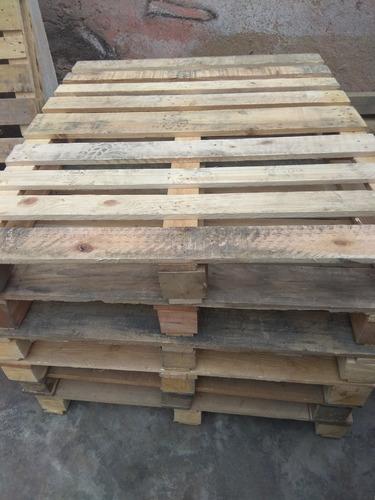 palets - parihuelas de madera de segunda mano