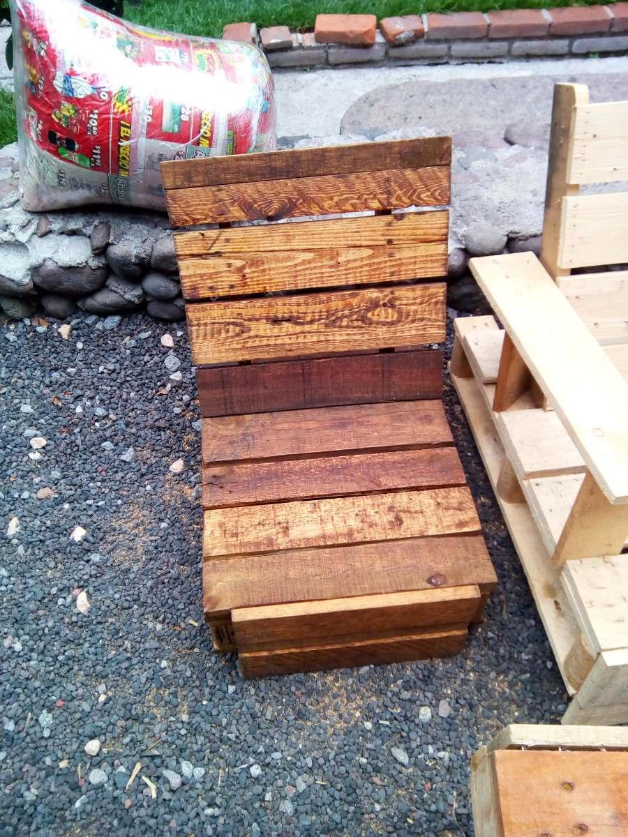Palets recicladas de 87x61x13 cm tarimas para muebles - Reciclar palets para muebles ...