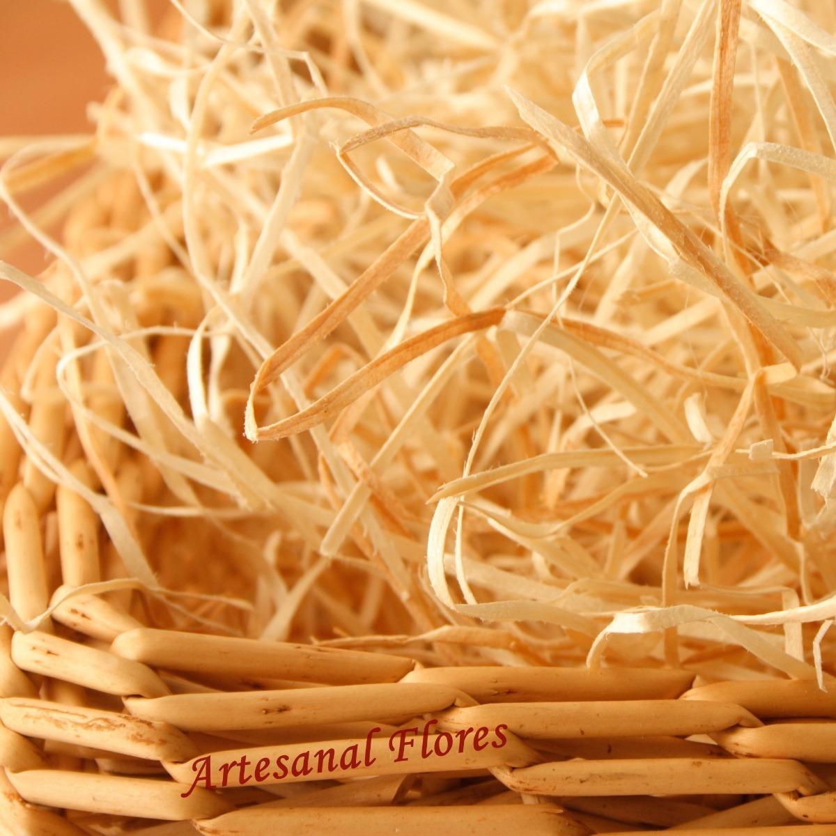 e110a8315cf8c palha madeira cestas decorações fardo 4 kilos. Carregando zoom.