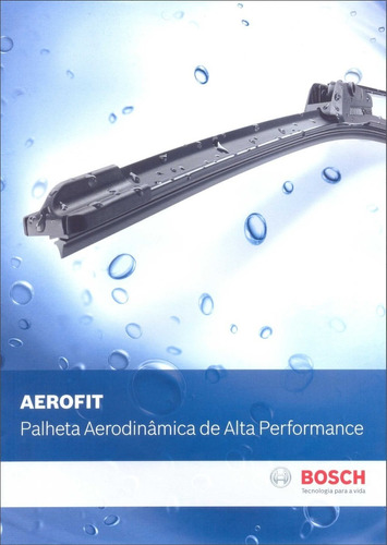 palheta aerofit original bosch toyota corolla 08/ af26/16