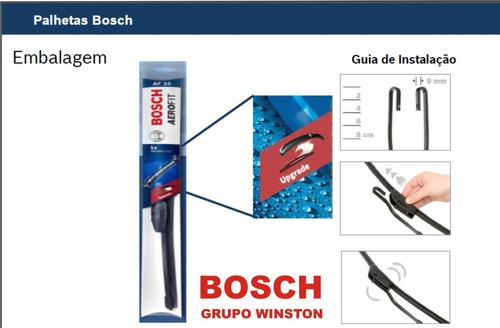 palheta azera h1 original bosch aerofit c/ nota fiscal