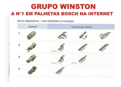palheta bosch aerotwin plus passat variant polo ap 21/19