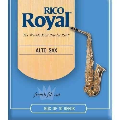 palheta p/ sax alto rico royal 2.5