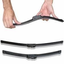 palheta parabrisa vidro carro silicone flexivel par trase 12