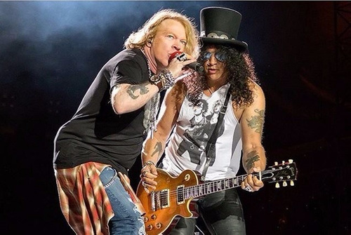 palheta rara troubadour slash guns n roses 2016 original