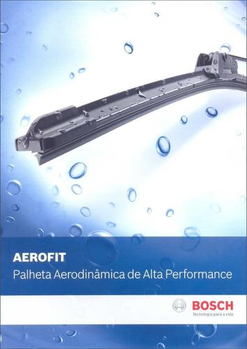 palheta silicone bosch aerofit peugeot 206 todos + traseira