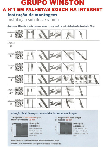 palhetas bosch aerotwin plus porsche 911 cayman ap 21 / 22
