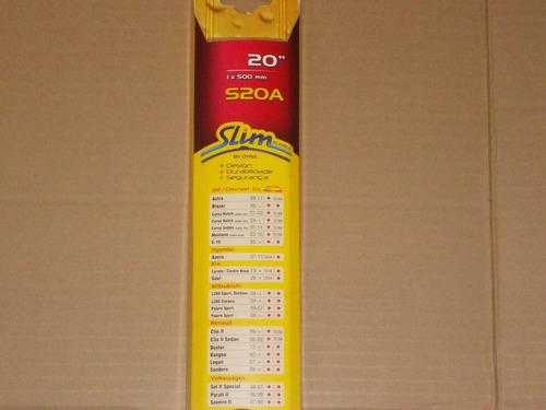 palhetas slim blade+renault duster/kangoo/logan/sandero