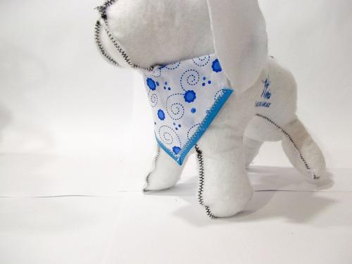 paliacates o pañuelos para perro con collar paq 3 pz