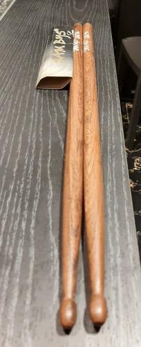 palillos de batería sambys 5a punta de madera deluxe