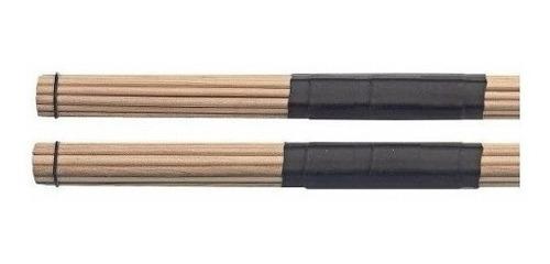 palillos escobillas hot rod parquer 19 varillas de madera