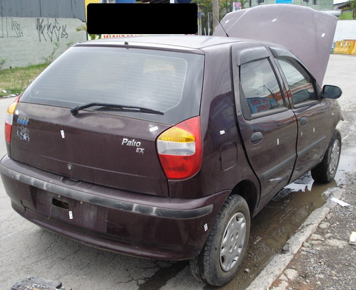 palio 1.0 sucata motor cambio porta capo suspensão direção