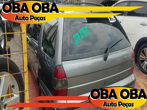 palio 1.5 weekend mpi gas 1997/1998 - sucata p/ retira peças