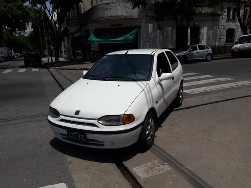 palio s 1.3 3 puertas blanco con gnc