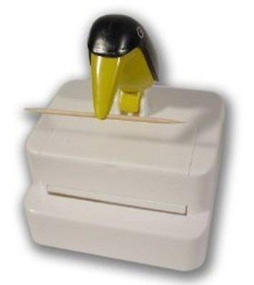 paliteiro tucano pega palito kit com 2un