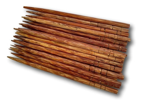 palito de coco  pati para cabelo (dúzia) ref. 3015
