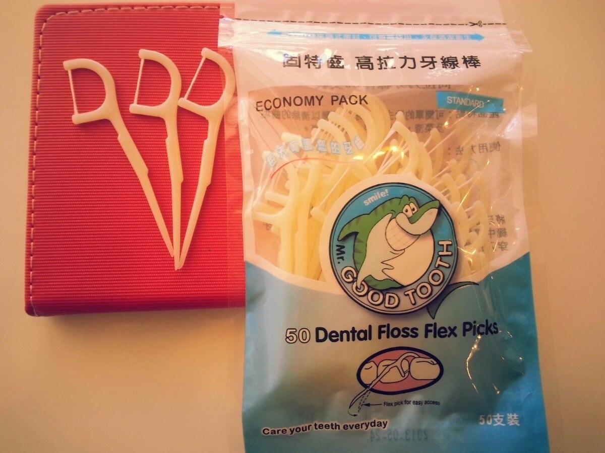 669f52e27 palito de dente com fio dental lote com 5 pacote. Carregando zoom.