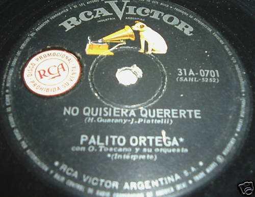 palito ortega el mapa vinilo simple argentino promo